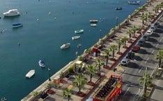 Principales destinos: Gzira (miniatura de la ciudad)
