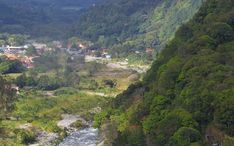 Naj destinácie: Boquete (miniatúra mesta)