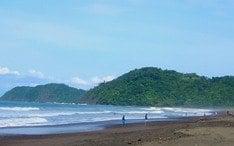 Principales destinos: Jaco Beach (miniatura de la ciudad)