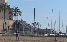 Principales destinos: Sitges (miniatura de la ciudad)