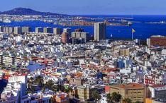 En Popüler Varış Noktaları: Las Palmas (şehir küçük resmi)