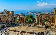 Principales destinos: Taormina (miniatura de la ciudad)