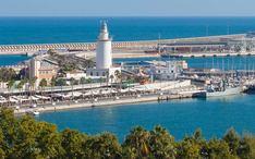 Principals destinacions: Màlaga (miniatura de la ciutat)
