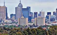 Legnépszerűbb célállomások: Melbourne (A város kicsinyített nézete)