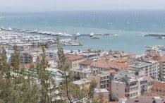 Legnépszerűbb célállomások: Sanremo (A város kicsinyített nézete)