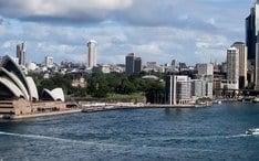 Legnépszerűbb célállomások: Sydney (A város kicsinyített nézete)