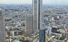Principales destinos: Tokio (miniatura de la ciudad)