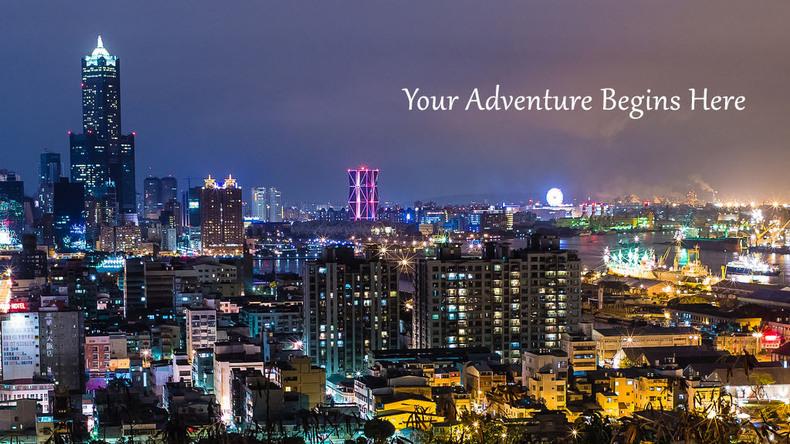 Kaohsiung manzarası