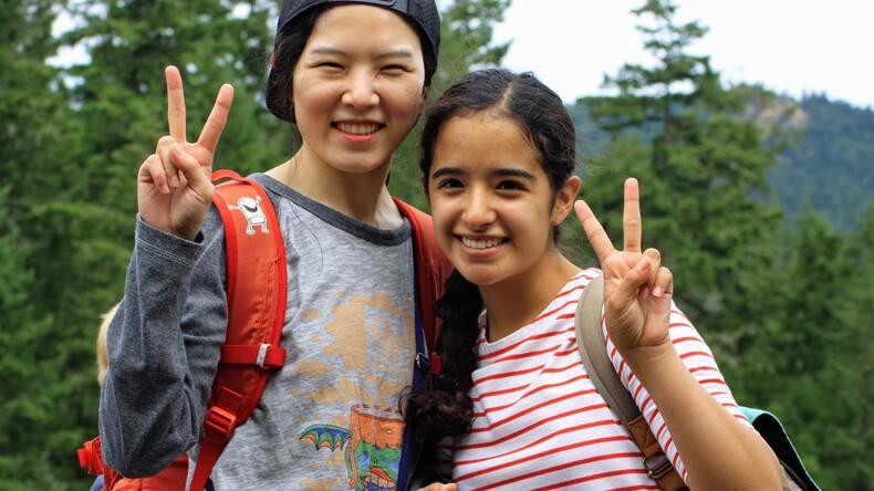 Mutlu öğrenciler