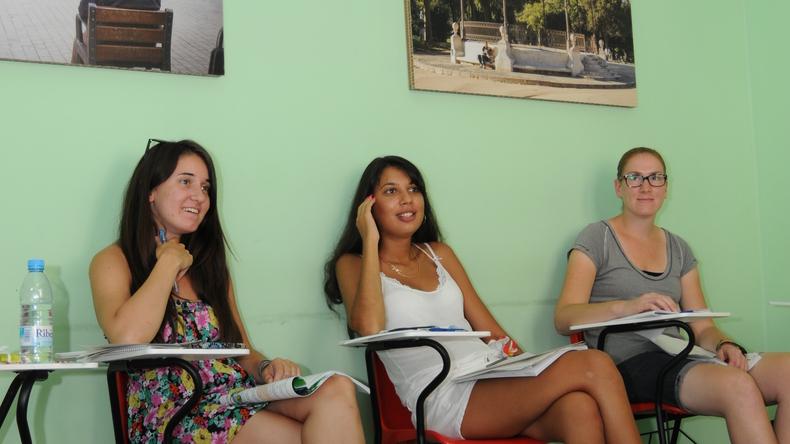 Студенти в класі
