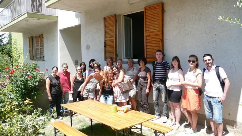 学员在Centro Culturale Conero